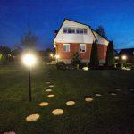 Ландшафтный дизайн: точечные светильники