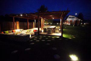 Ландшафтный дизайн: освещение участка